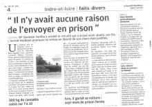 La Nouvelle République - Il n'y avait aucune raison de l'envoyer en prison - Maître Germain YAMBA